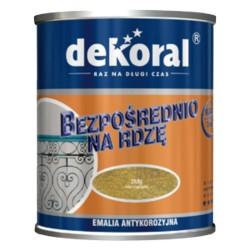PPG/DEKORAL Emalia antykorozyjna czarna półmat 0,65