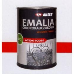 ANSER/Farba poliuretanowa zielona 1L+utwardzacz 0,23L