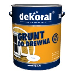 PPG/DEKORAL Gruntomal 10 L biała farba ftalowa podkładowa