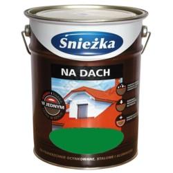 SNIEZKA/Farba Na dach zielona ciemna 0,75 L