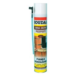 SOUDAL/Piana montażowa 500 ml Genius GUN
