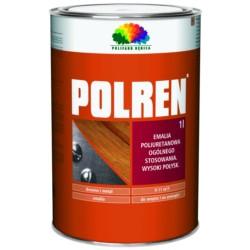 DEBICA/Polren czerwona jasna 1 L emalia poliuretanowa