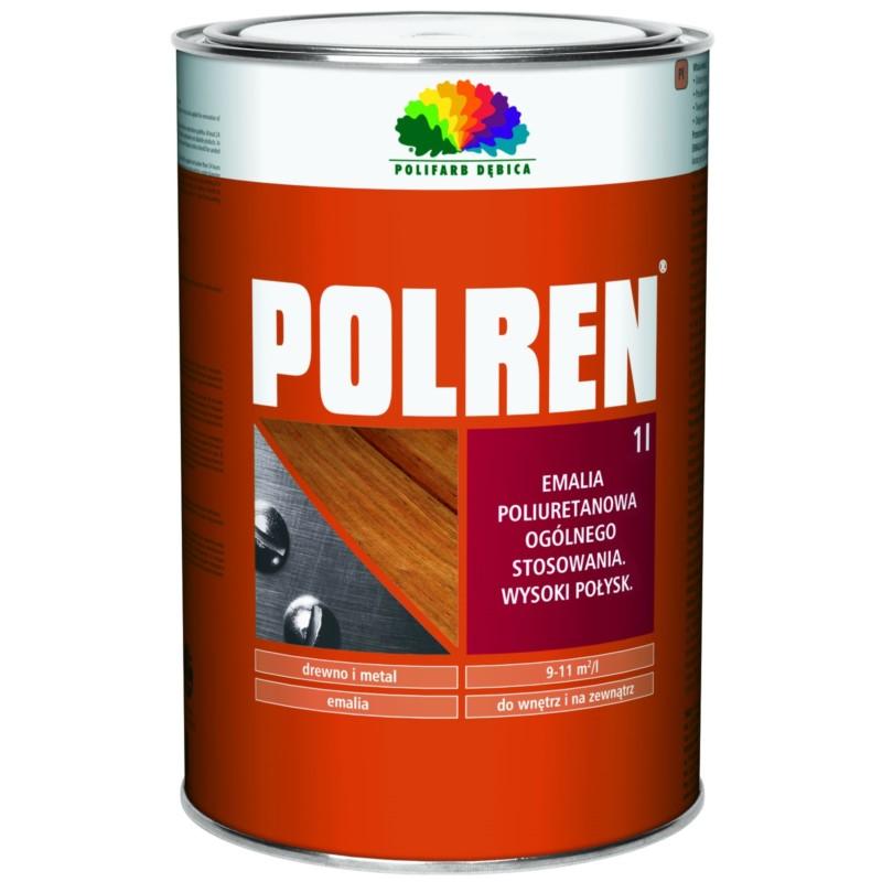 DEBICA/Polren czarna 1 L emalia poliuretanowa