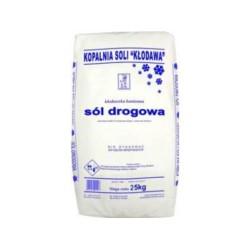 DRAGON/Sól drogowa  25kg paleta