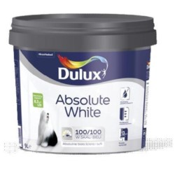 AKZO/DULUX Absolute White 9 L