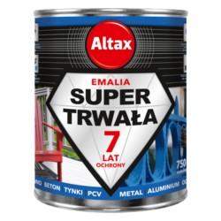ALTAX/Super Trwała Emalia czarny mat 250ml