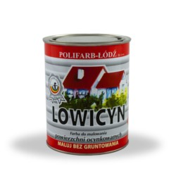 LODZ/Lowicyn Zielona mięta RAL 6029 10 L- farba na dach - mat