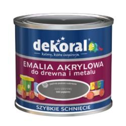 PPG/DEKORAL Akrylux Plus siwy dym 0,5 L