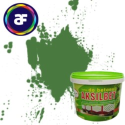 AKSIL/Aksilbet farba do betonu zielony GN 10L