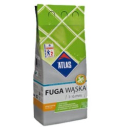 ATLAS/Fuga 2 kg jasnobrązowa /Nr.123/ wąska