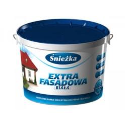 SNIEZKA/Extra fasadowa emulsja  biała 5 L