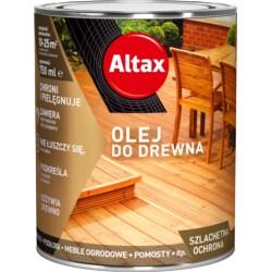 ALTAX/Altaxin olej do drewna bezbarwny z UV 0,75L