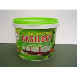 AKSIL/Aksilbet farba do betonu wiśnia 130  5L