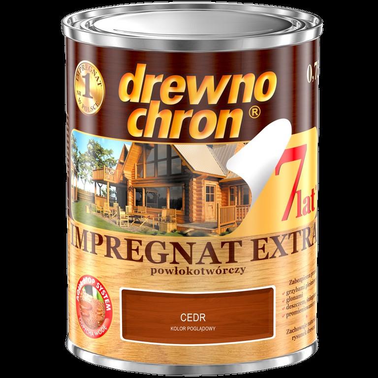 PPG/Drewnochron impregnat Extra cedr 4,5L powłokotwórczy