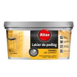 ALTAX/Lakier do podłóg bezbarwny półmat 5L
