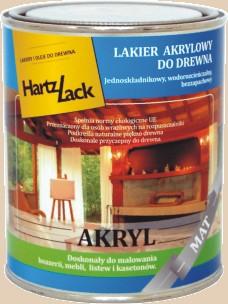 VENGA/Lakier HartzLack akryl mat 0,75 L