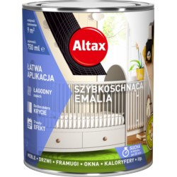ALTAX/Emalia Szybkoschnąca Biały połysk 250ml do wnętrz