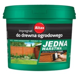 ALTAX/Impregnat do drewna ogrodowego orzech 10L