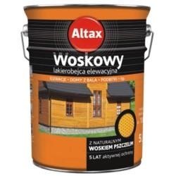ALTAX/Altaxin woskowy lakierobejca elewacyjna kasztan 0,75L