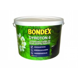 PPG/Bondex Dyroton 6 Super Wall .farba do ścian biała 2,5 L