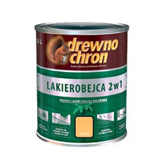 PPG/DREWNOCHRON Lakierobejca 2w1 palisander ciemny  0,2 L